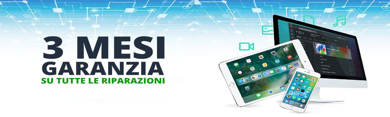 garanzia 3 mesi riparazioni smartphone tablet pc itech