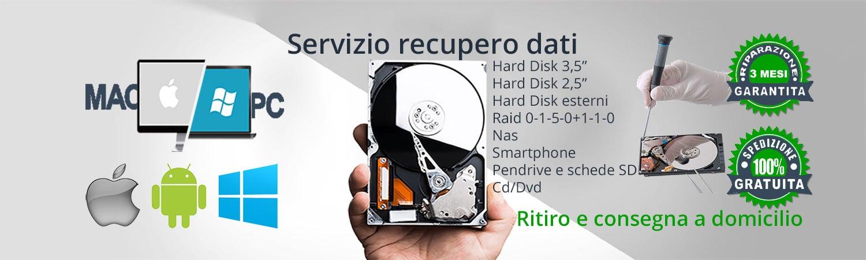 recupero dati Mac pc hard disk smartphone