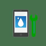 riparazione pulizia ossidi danno acqua smartphone tablet cellulari