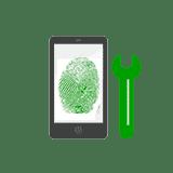 riparazione tasto sensore impronta digitale smartphone tablet cellulare