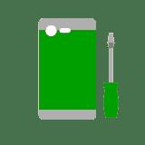 sostituzione scocca posteriore smartphone tablet cellulare