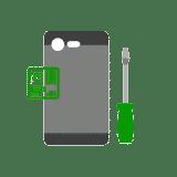 sostituzione vetrino scocca posteriore smartphone tablet cellulare